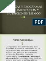 Políticas y programas de alimentación y nutrición 2014