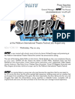 SUPER Casting Press Release DRAFT 150517