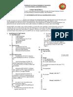 PRACTICA N° 3 DETERMINACIÓN DE ALCALINIDAD DEL AGUA