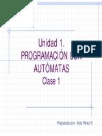 Programación con automatas Parte 1.