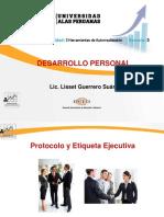 Semana 3-Protocolo y Etiqueta Ejecutiva (1) Desarrollo