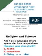 Kerangka Riset_m Sodik 2017