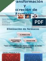 biotransformacionyexcreciondefarmacos-111022214441-phpapp01.pptx