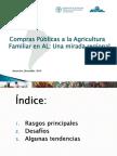 Análisis Del Estado General de Situación de Programas de Compras Públicas