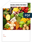 dietary guidelines over the world