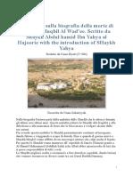 La Morte Di Shaykh Muqbil - Sommario