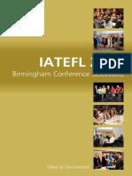 IATEFL 2016 Birmingham Conference Selections