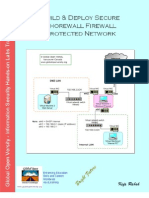 Build & Deploy Secure Shorewall Firewall Protected Network v1.2