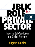 A Public Role for the Private Sector