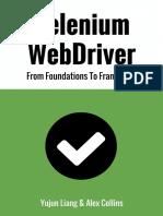 Selenium Webdriver Book Pdf Selenium Software Software Development