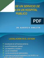 Barletta - Gestion de Un Servico de Cirugia Publico