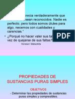 PROPIEDADES DE SUSTANCIAS PURAS SIMPLES.ppt