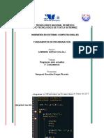 Programacion Proyecto Segio
