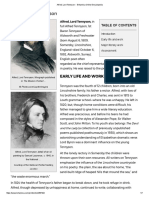 Alfred, Lord Tennyson -- Britannica Online Encyclopedia