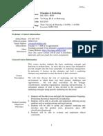 UT Dallas Syllabus for ba3365.hon.10f taught by YU WANG (yxw078000)