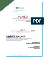 Lavanderia l & r Pcmso 2016