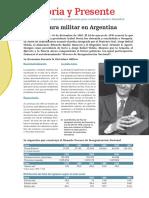 1. La Dictadura Militar en Argentina