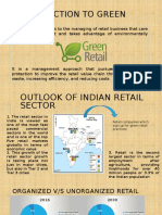 Introduction to Green Retail