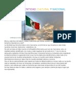 Identidad Nacional de México