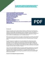 Genoma Humano y Terapia Genica