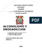 Alcoholimo y Drogadiccion