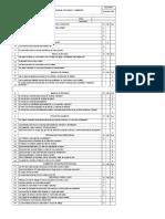 Formato Inspección de Seguridad 2016