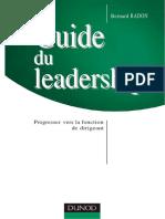 Guide du leadership - Progresser vers la fonction de dirigeant.pdf