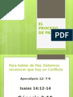 EL PROCESO de PAZ - Escuela Sabática
