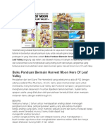 Buku Panduan Harvest Moon Hero Leaf Of Village.docx