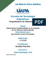 Prop. de Matematica Juan Daniel L.H Unidad II