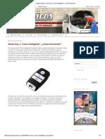 Blogmecánicos_ Smart Key o _Llave Inteligente_, ¿Cómo Funcionan