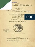 BMC Greek Aquisitions 1929 NC 1930