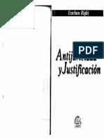 Righi  Antijuridicidad y Justificación