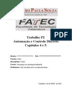 TRABALHO DE CLPI  - LIVRO AUTOMAÇÃO E CONTROLE DISCRETO.docx
