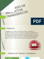 Patentado de Productos Transgénicos [Recuperado]