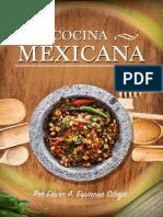 Cocina Mexicana - Edwin a. Espinosa