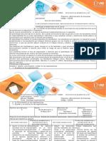 Guía de Actividades y Rúbrica de Evaluación - Actividad 3