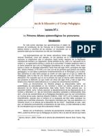 Lectura 1 - Primeros debates epistemológicos - Los precursores.pdf