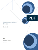 Unit1FundamentalsofHardwareandSoftware20092010[1]