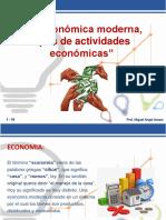001 La Económica Moderna Tipos de Actividades Económicas