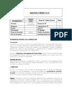 Microcurriculo Informatica I