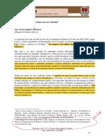 Raíces Étnicas, Política y Democracia en Colombia
