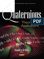 Quaternions Theory and Applications - Griffin, Sandra