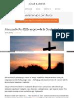 Josuebarrios Com Evangelio Gloria Cristo
