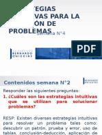 Clase 4 Estrategias Para La Resolución de Problemas