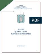Experimentos de Química Física - Robert Cazar