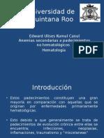 Anemias No Hemoliticas