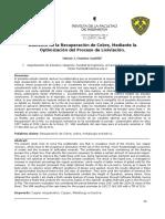 Aumento de la recuperacion de cobre mediante optimizacion de su lixiviacion.pdf
