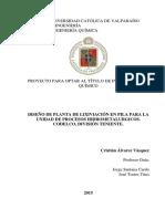 Diseño de Planta de Lixiviacion en Pila Para Division de Procesos Hidrometalurgicos