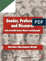 Libro Gender Profesions Discourse